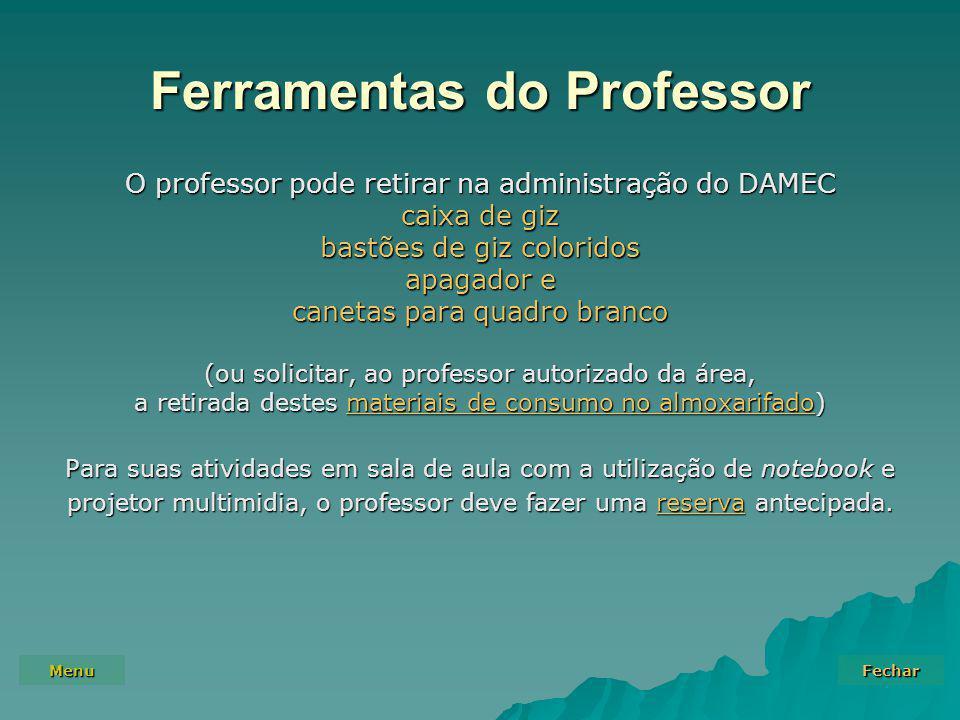 Ferramentas do Professor