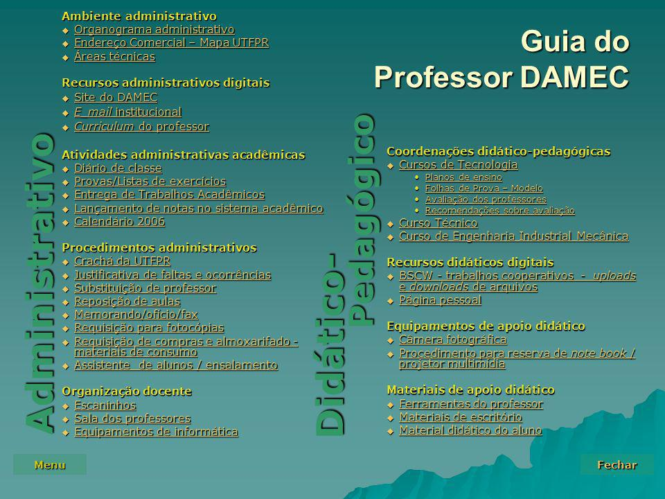 Guia do Professor DAMEC