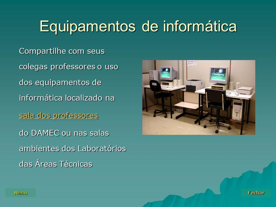 Equipamentos de informática