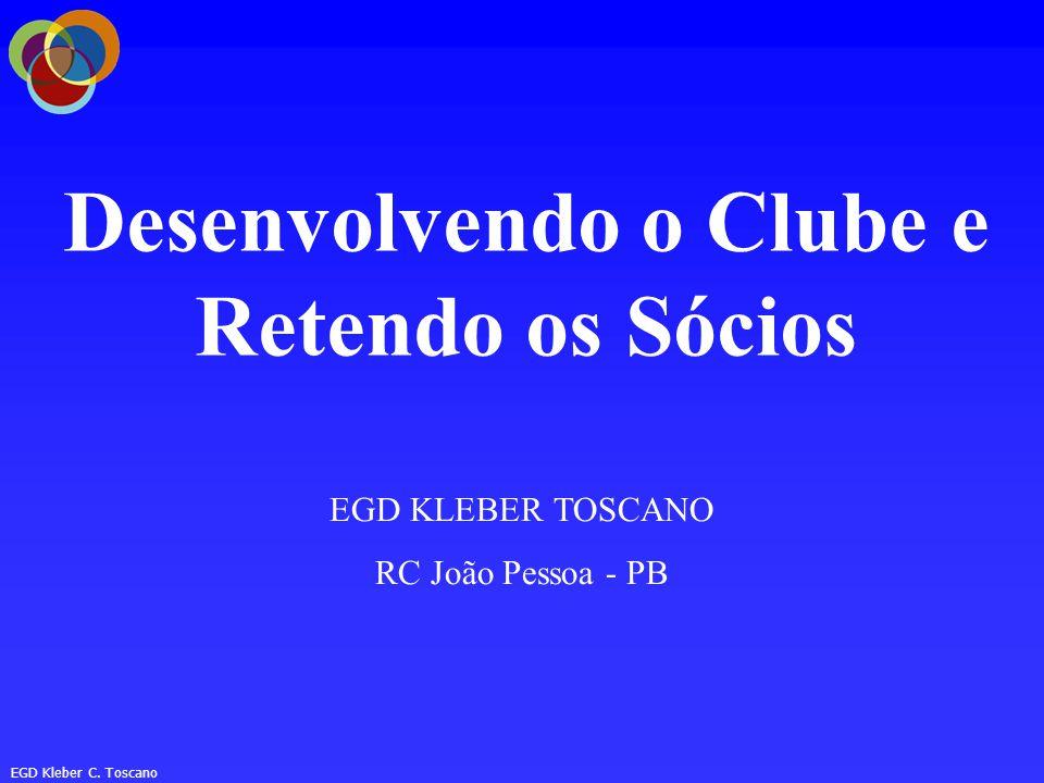 Desenvolvendo o Clube e Retendo os Sócios