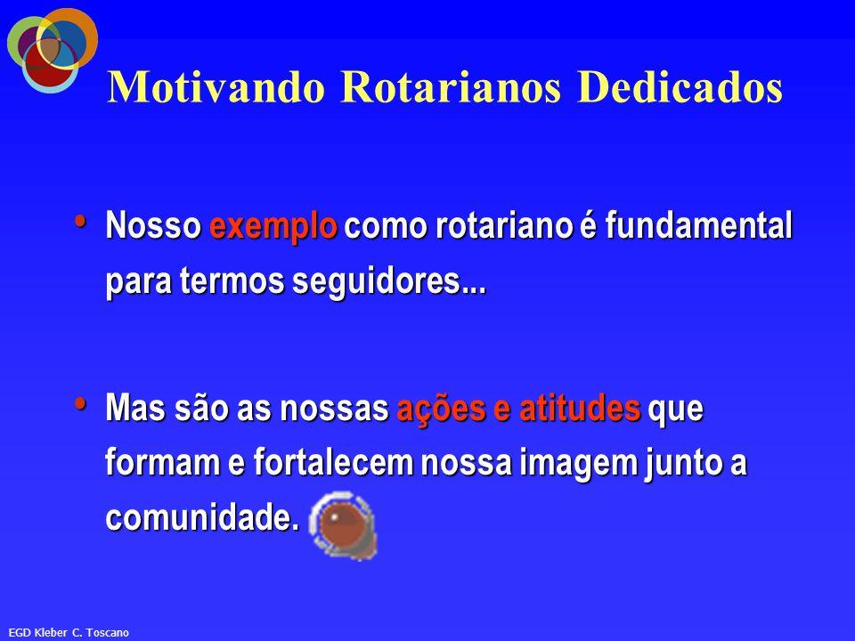 Motivando Rotarianos Dedicados