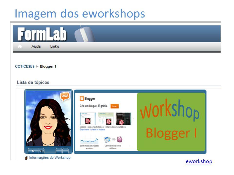 Imagem dos eworkshops eworkshop
