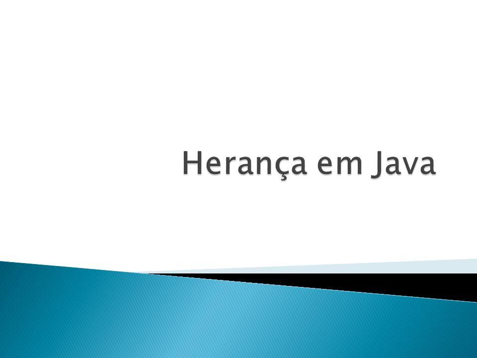 Herança em Java