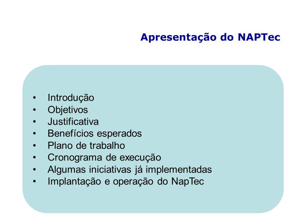 Apresentação do NAPTec