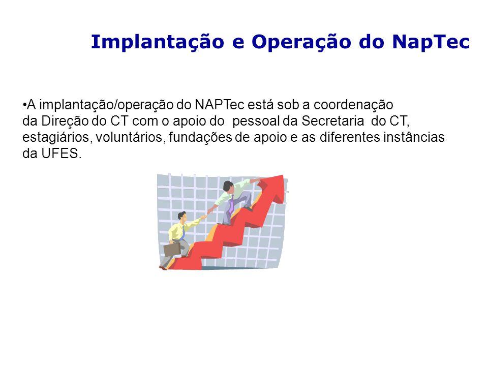 Implantação e Operação do NapTec
