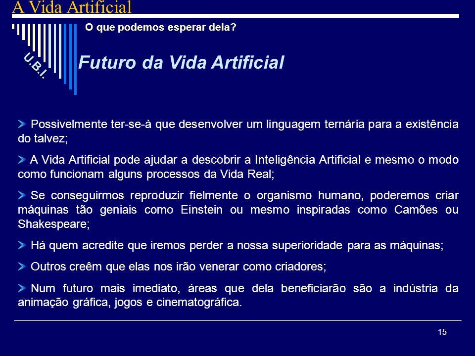 Futuro da Vida Artificial