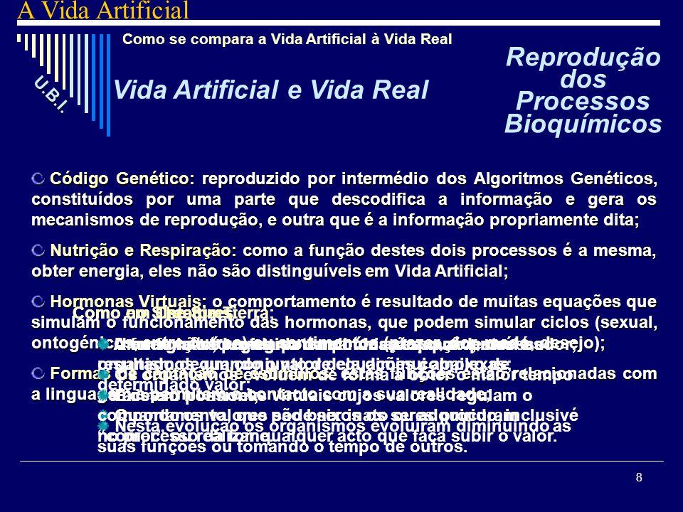 Reprodução dos Processos Bioquímicos