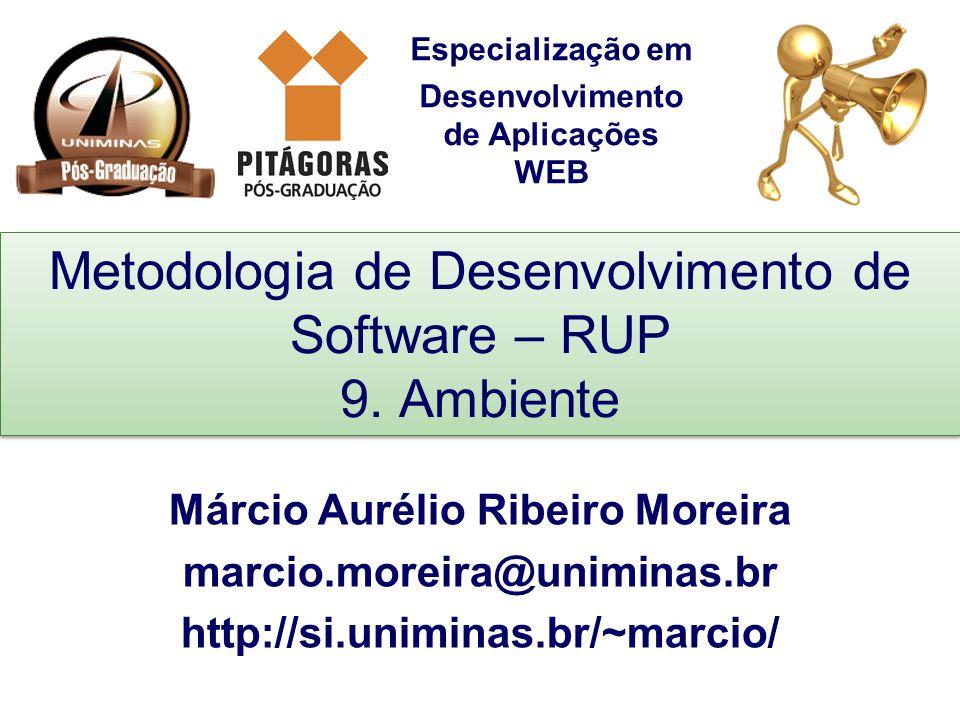 Metodologia de Desenvolvimento de Software – RUP 9. Ambiente