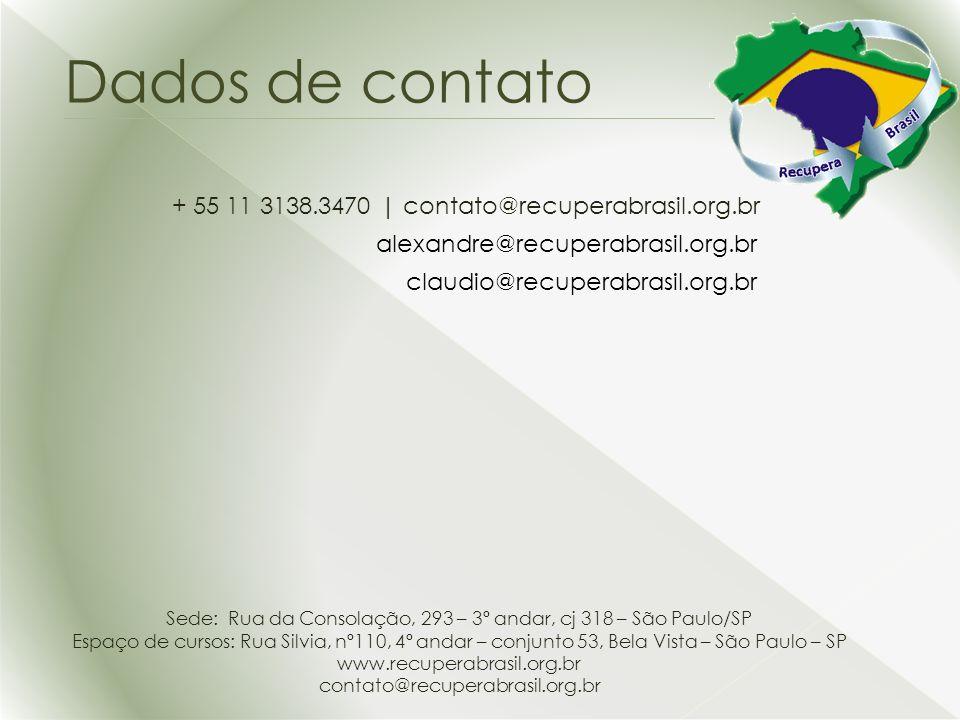Sede: Rua da Consolação, 293 – 3º andar, cj 318 – São Paulo/SP