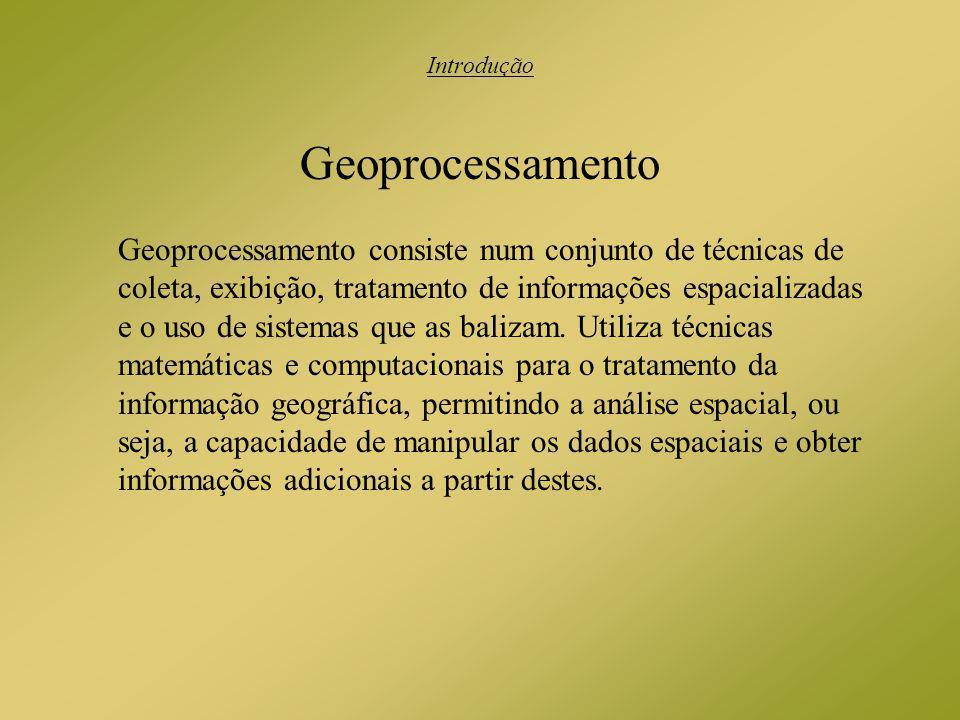 Introdução Geoprocessamento.
