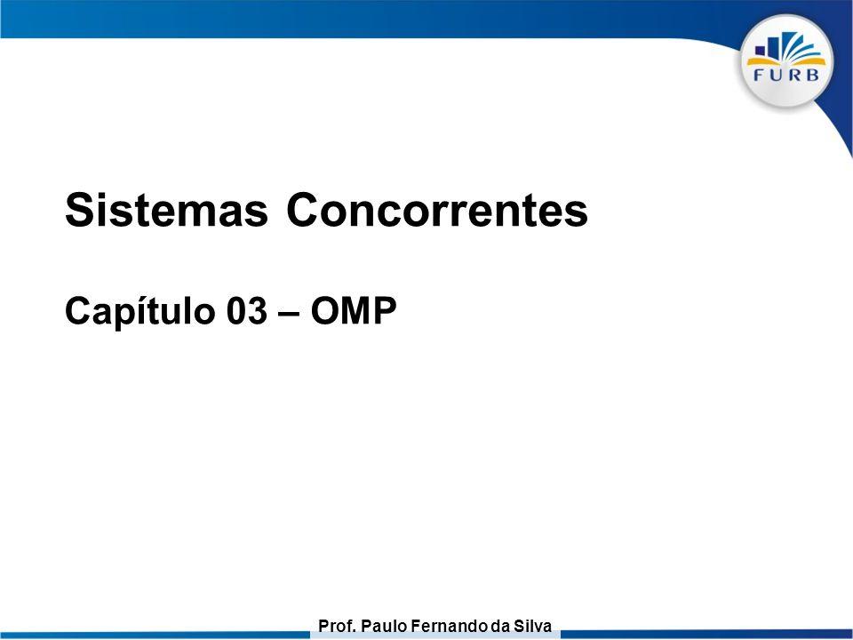 Sistemas Concorrentes Capítulo 03 – OMP