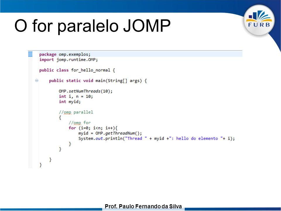 O for paralelo JOMP