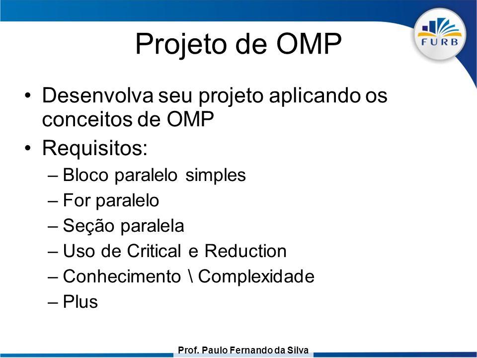 Projeto de OMP Desenvolva seu projeto aplicando os conceitos de OMP