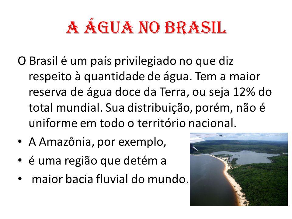 A água no Brasil