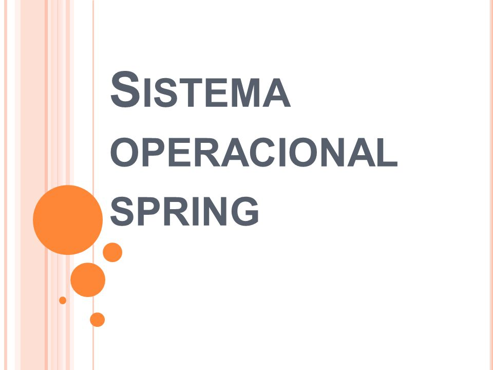 Sistema operacional spring
