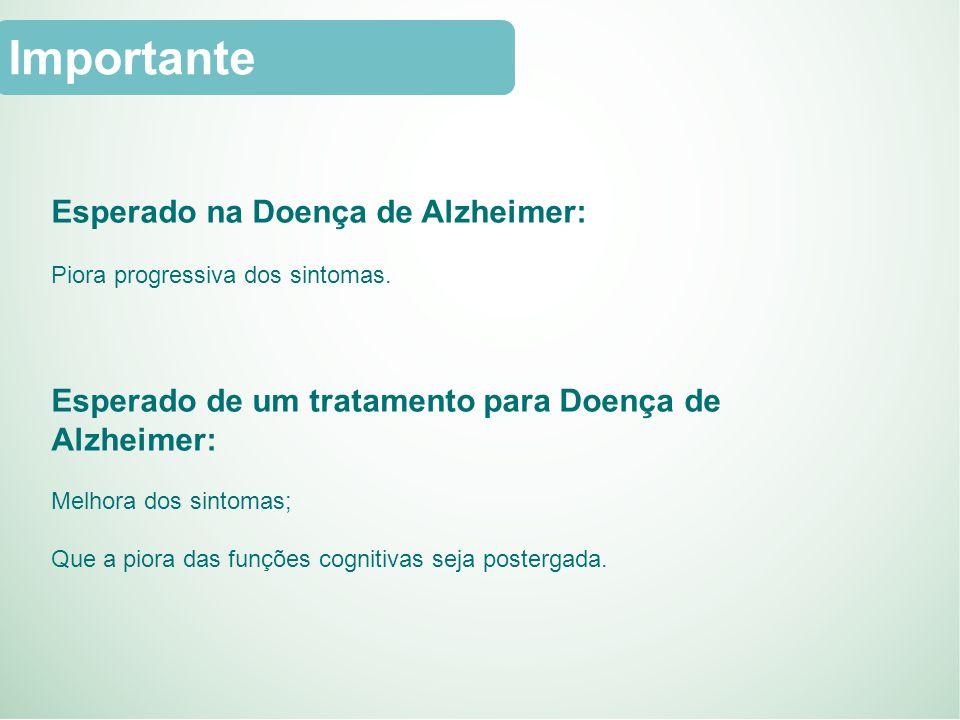 Importante Esperado na Doença de Alzheimer: