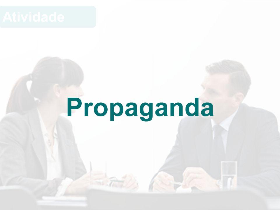 Atividade Propaganda