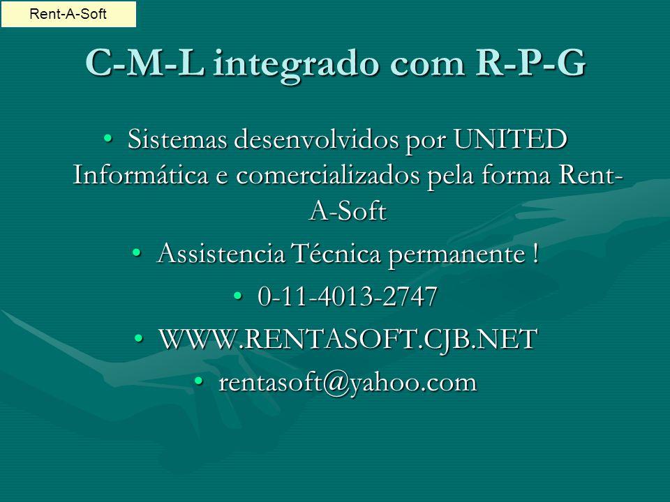 C-M-L integrado com R-P-G