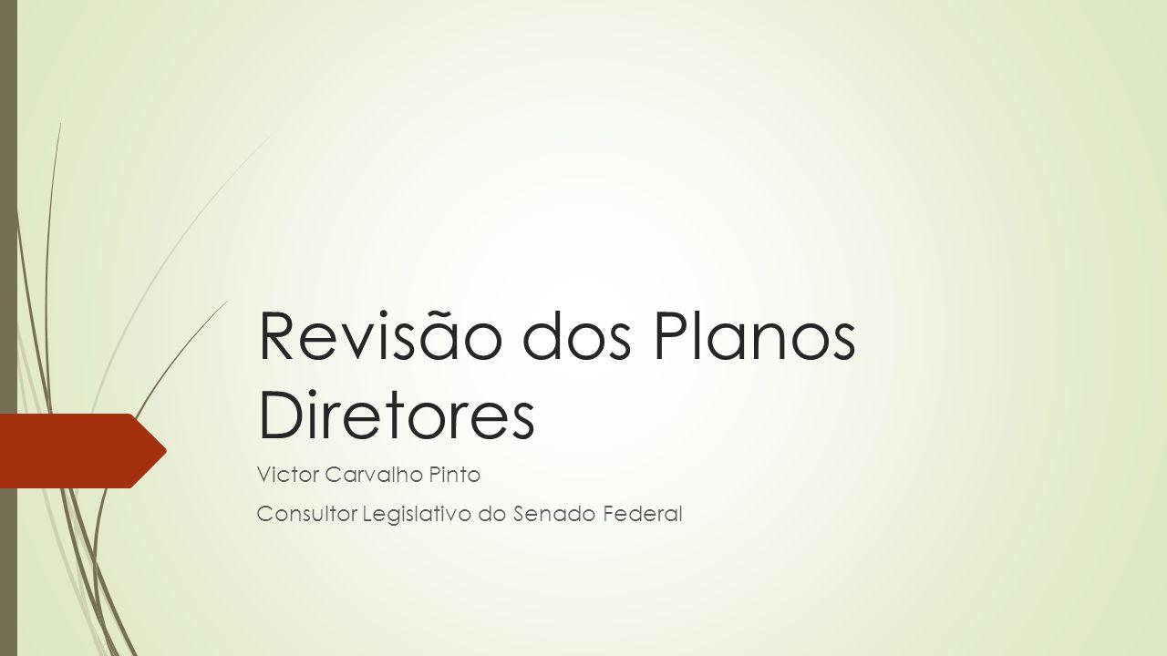 Revisão dos Planos Diretores