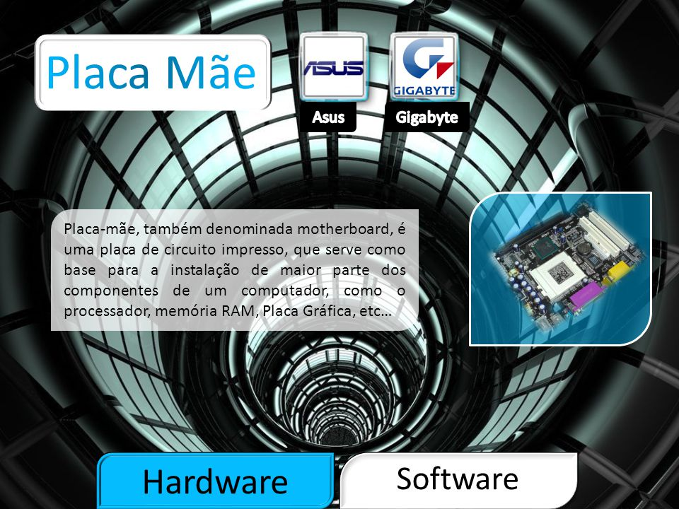 Placa Mãe Hardware Software Asus Gigabyte