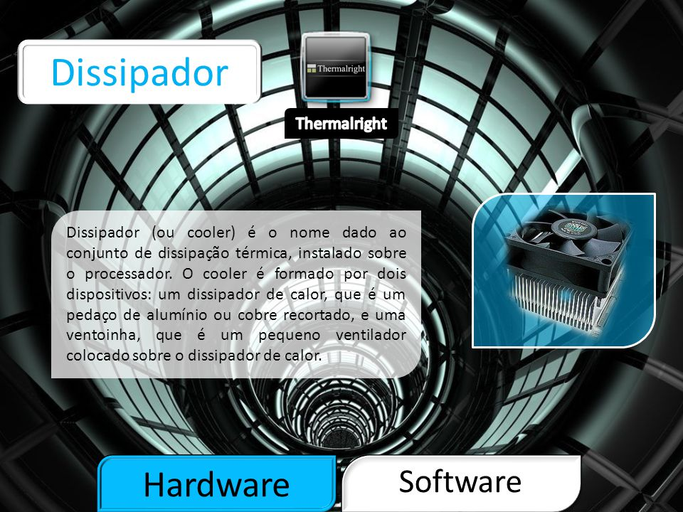 Dissipador Hardware Software Thermalright