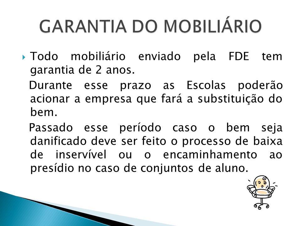GARANTIA DO MOBILIÁRIO