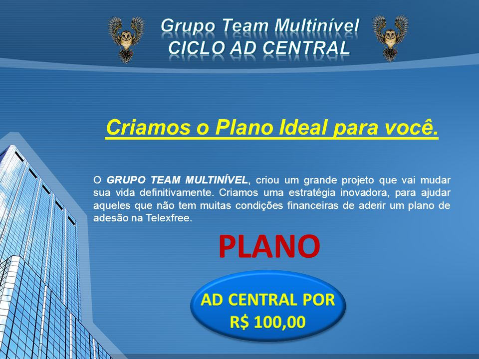 Grupo Team Multinível CICLO AD CENTRAL