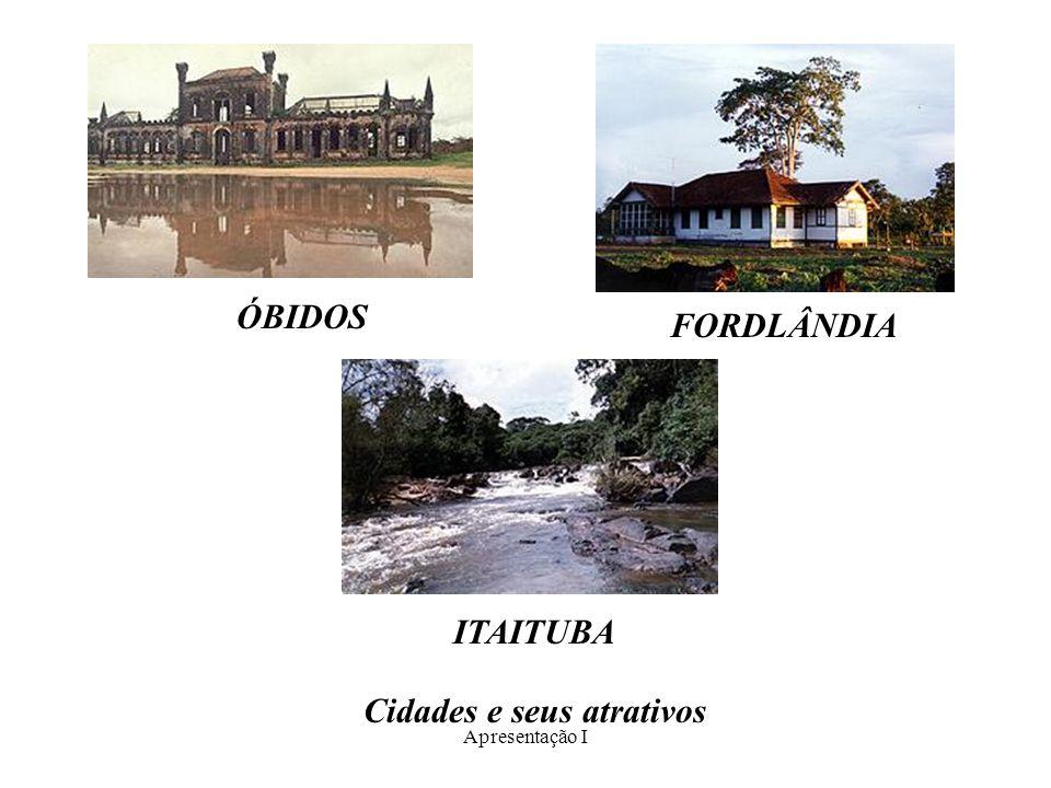 Cidades e seus atrativos