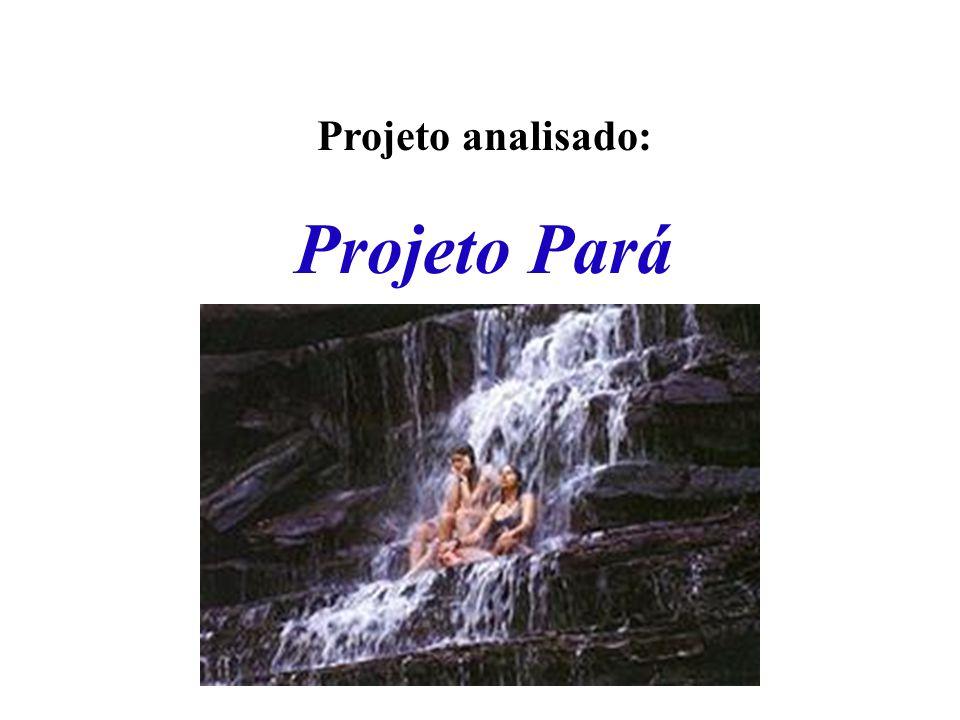 Projeto analisado: Projeto Pará Apresentação I