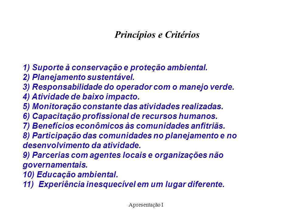 Princípios e Critérios