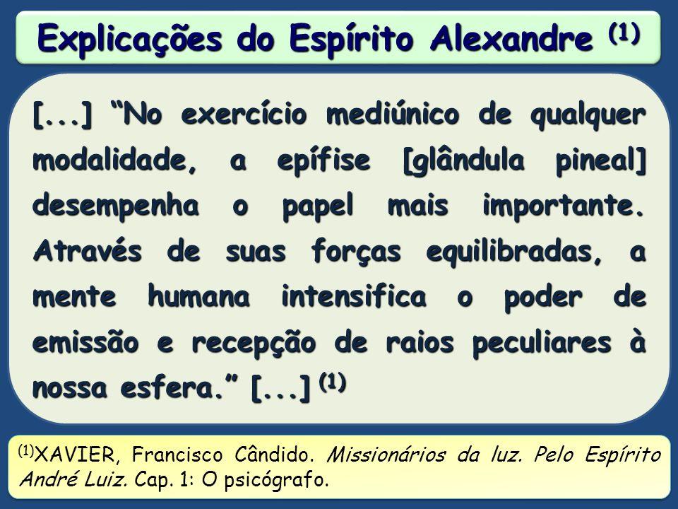 Explicações do Espírito Alexandre (1)