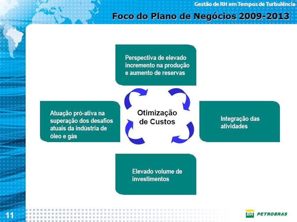 Foco do Plano de Negócios 2009-2013