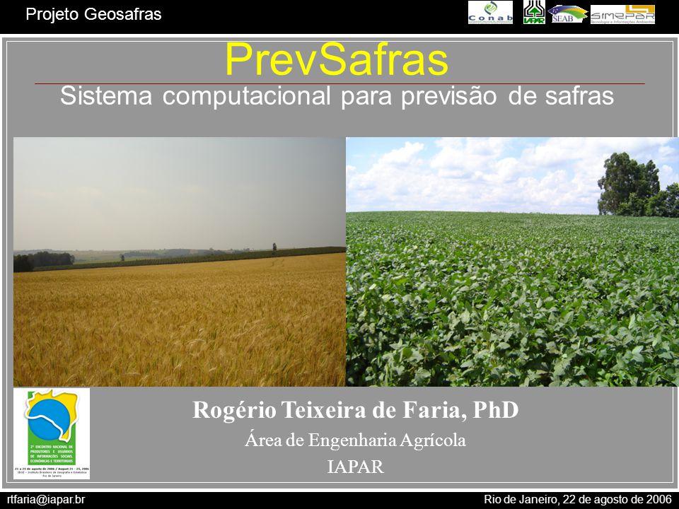 Rogério Teixeira de Faria, PhD