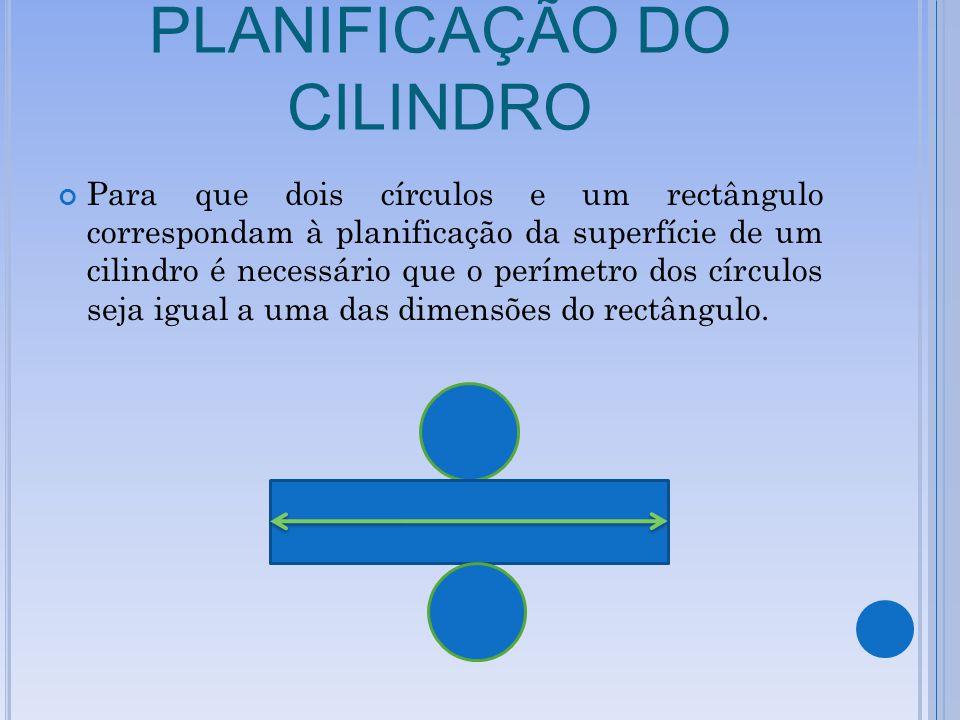 PLANIFICAÇÃO DO CILINDRO