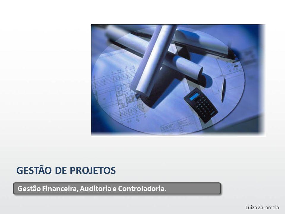 GESTÃO DE PROJETOS Gestão Financeira, Auditoria e Controladoria.