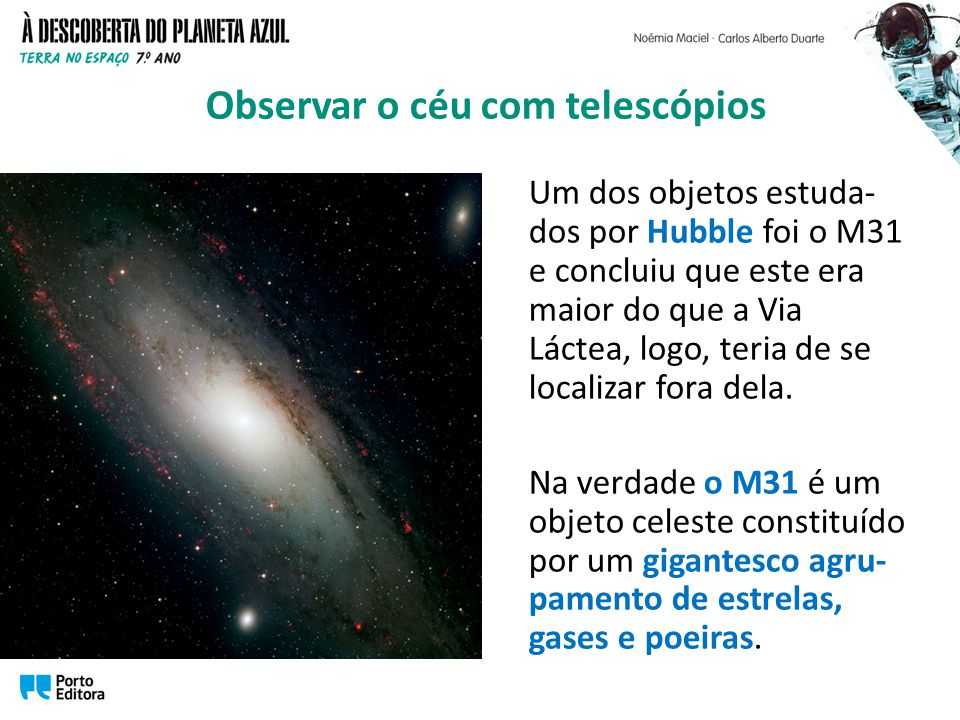 Observar o céu com telescópios