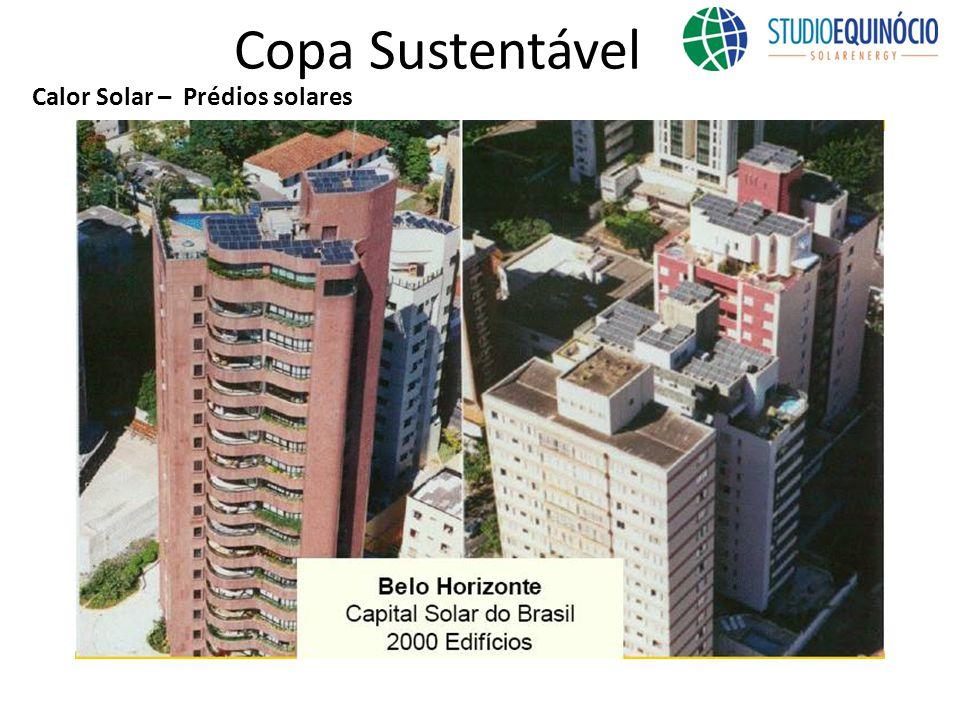 Copa Sustentável Calor Solar – Prédios solares