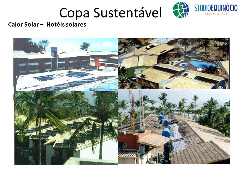 Copa Sustentável Calor Solar – Hotéis solares