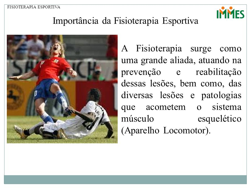 Importância da Fisioterapia Esportiva
