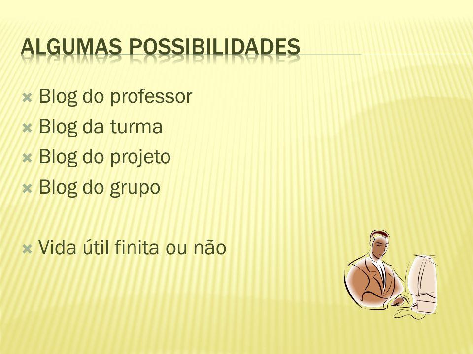 Algumas Possibilidades