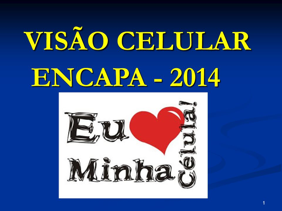VISÃO CELULAR ENCAPA - 2014