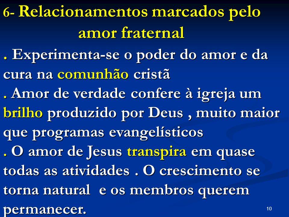 . Experimenta-se o poder do amor e da cura na comunhão cristã