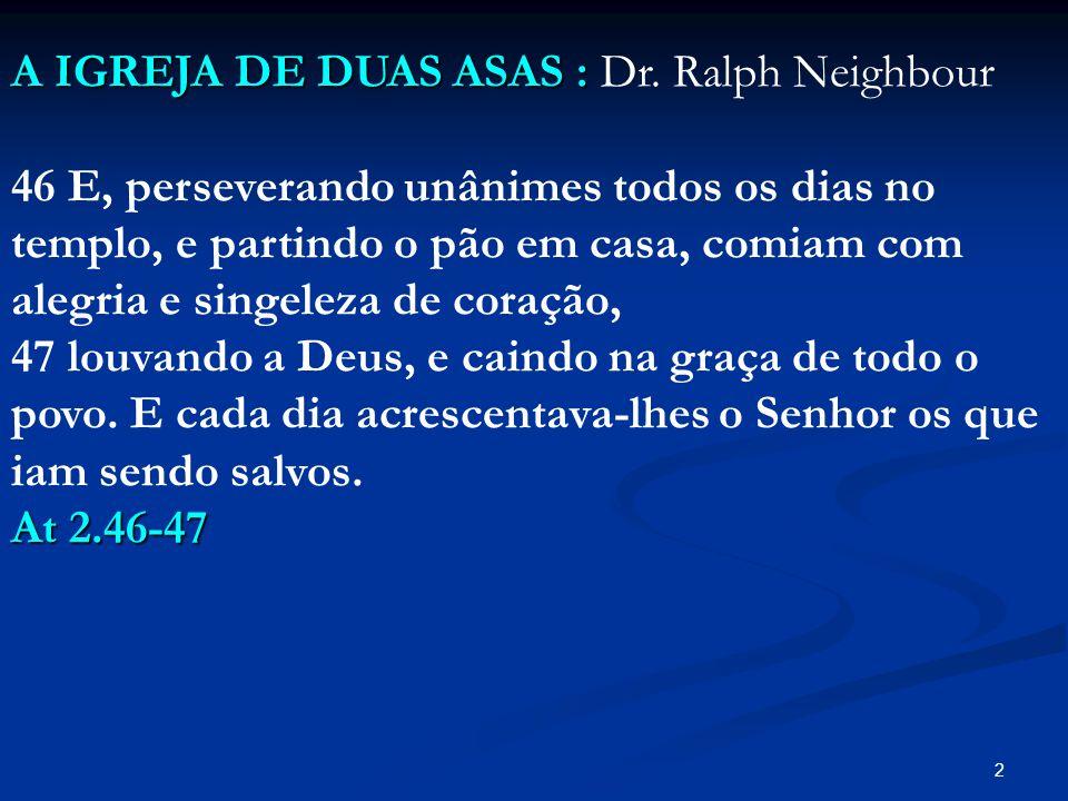 A IGREJA DE DUAS ASAS : Dr. Ralph Neighbour
