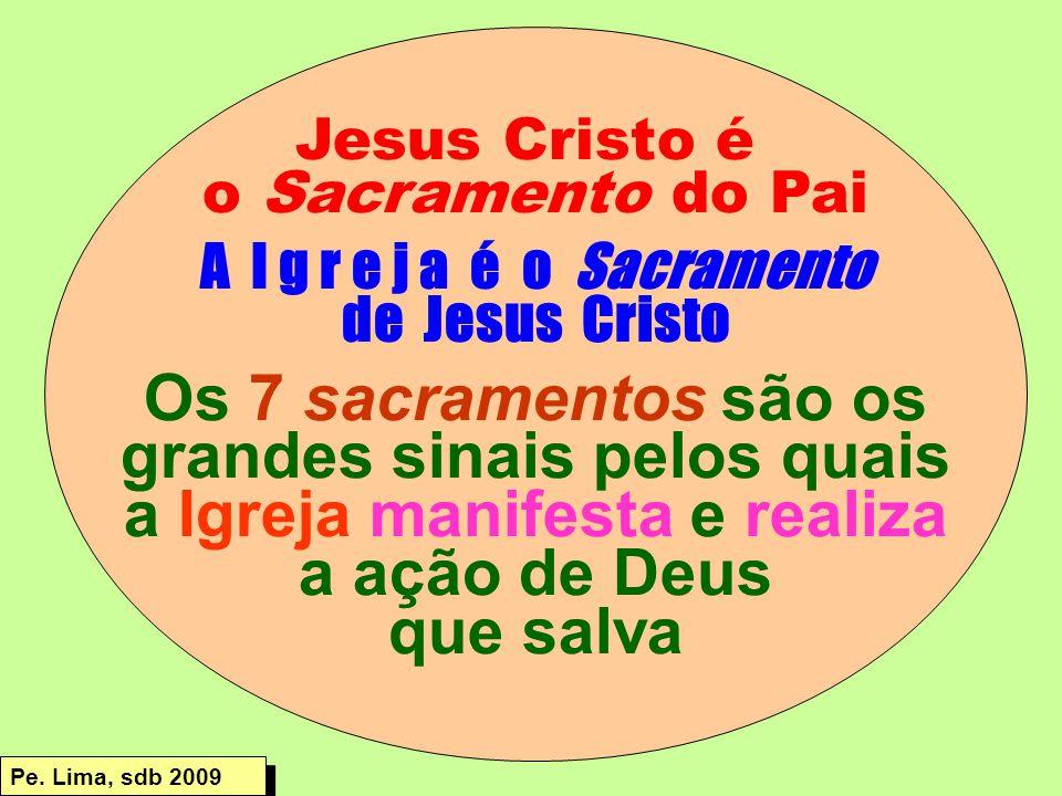 grandes sinais pelos quais a Igreja manifesta e realiza