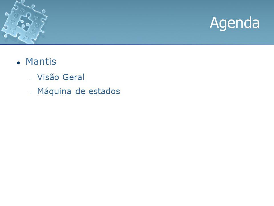 Agenda Mantis Visão Geral Máquina de estados