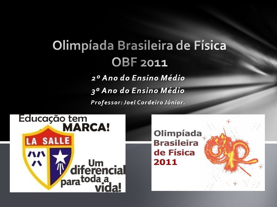 Olimpíada Brasileira de Física OBF 2011