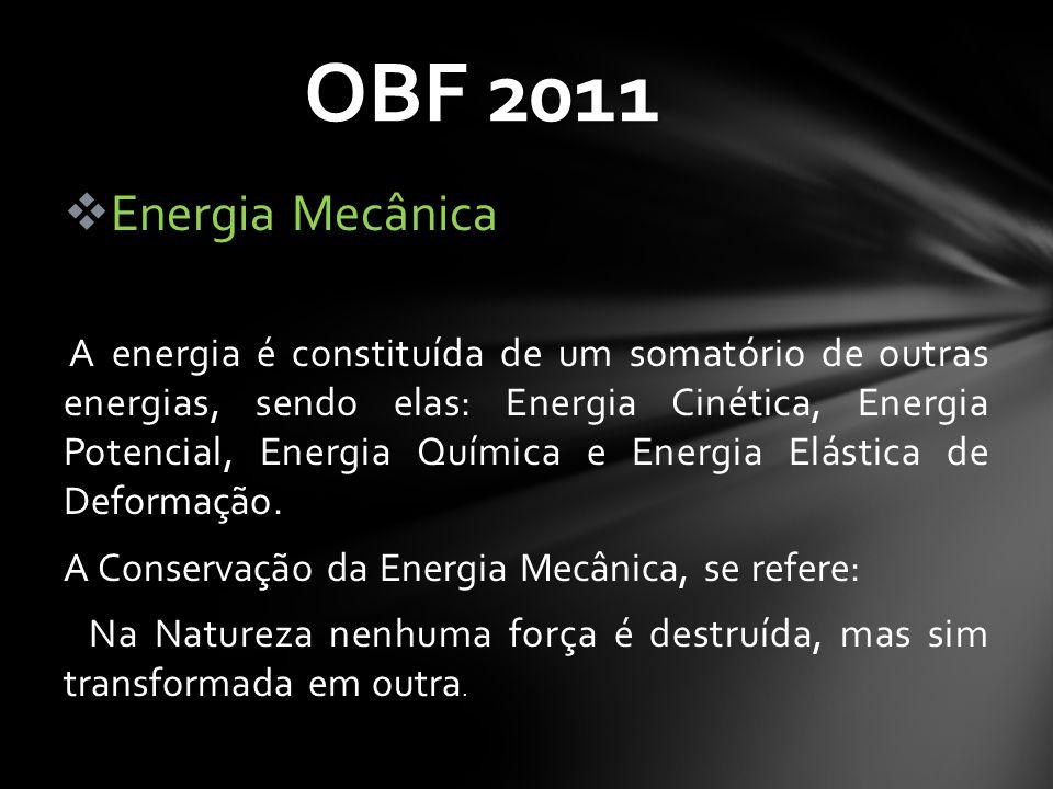 OBF 2011 Energia Mecânica.