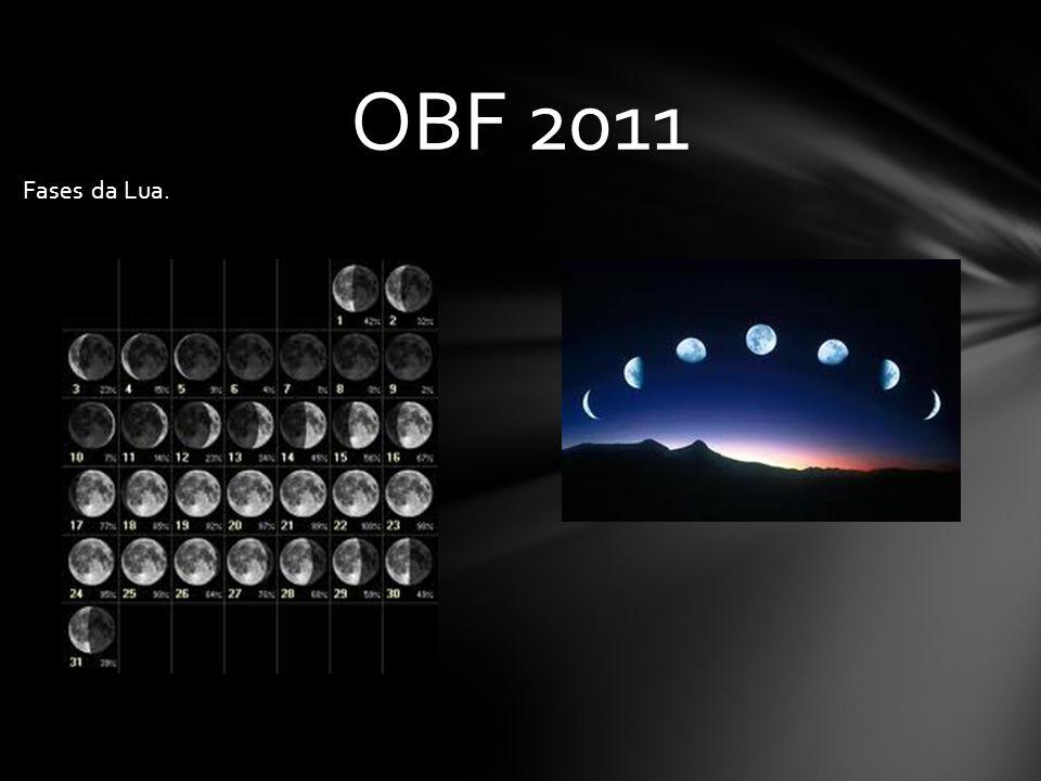 OBF 2011 Fases da Lua.