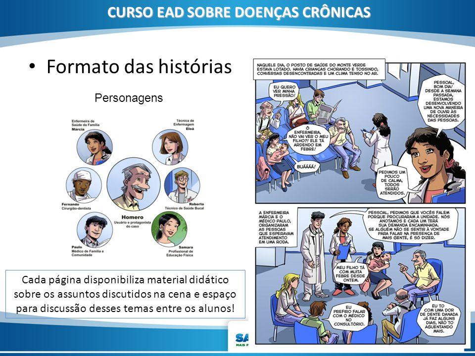 CURSO EAD SOBRE DOENÇAS CRÔNICAS