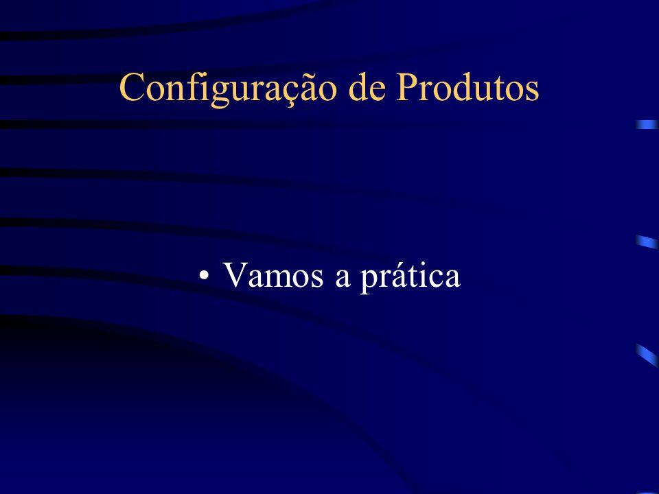 Configuração de Produtos